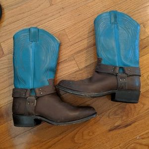 Frye Billy Harness Boots